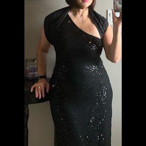 H&M sequinned dress so versatile